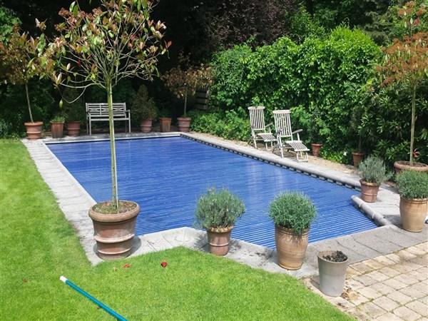 Lamellen - Zwarte voering voor zwembad ...